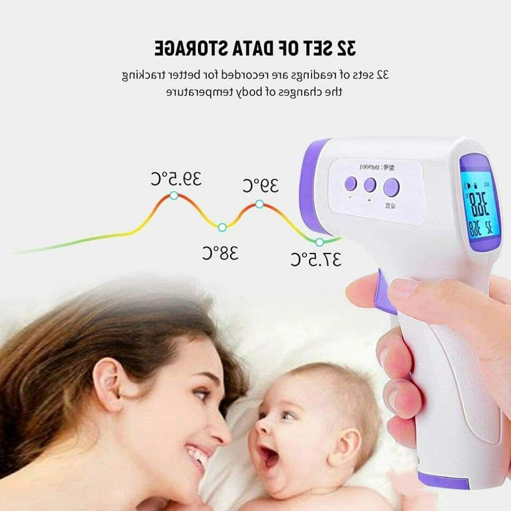 Forehead Thermometer, Non-Contact Digital Forehead Thermometer