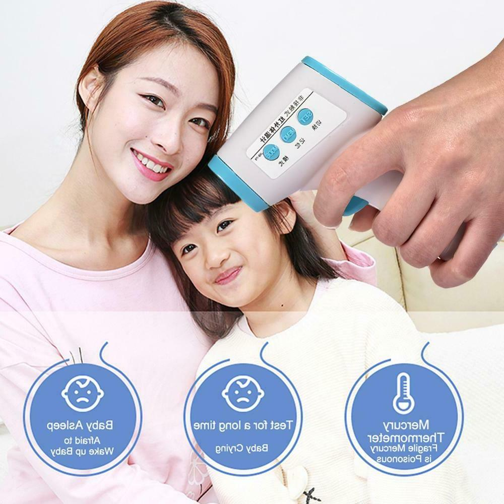 Forehead Infrared Digital LCD Body