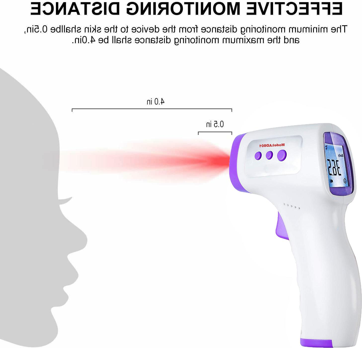 Forehead Thermometer LCD Infrared Fast Second