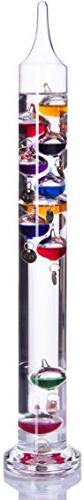 Palais Essentials Galileo Thermometer - Floating Glass Balls