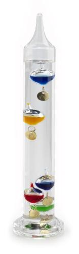 Lily's Home Galileo Thermometer, A Timeless Design That Meas