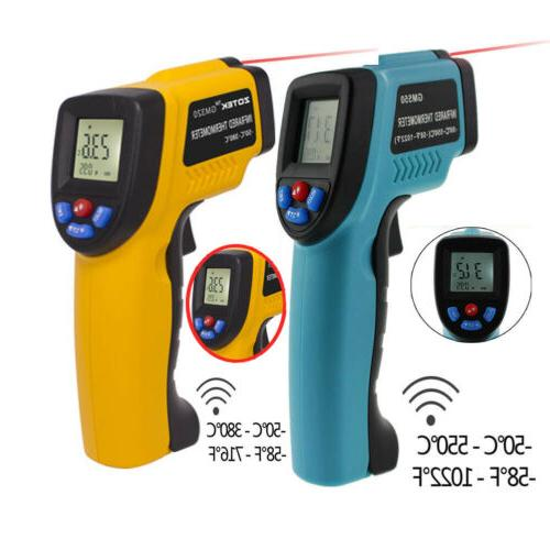 gm320 gm550 digital infrared thermometer non contact