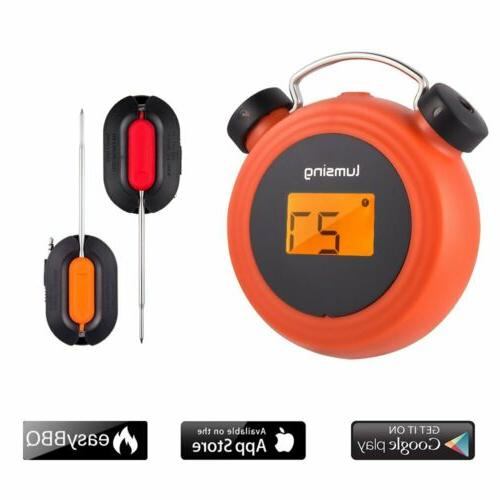 grill thermometer wireless bluetooth digital cooking meat