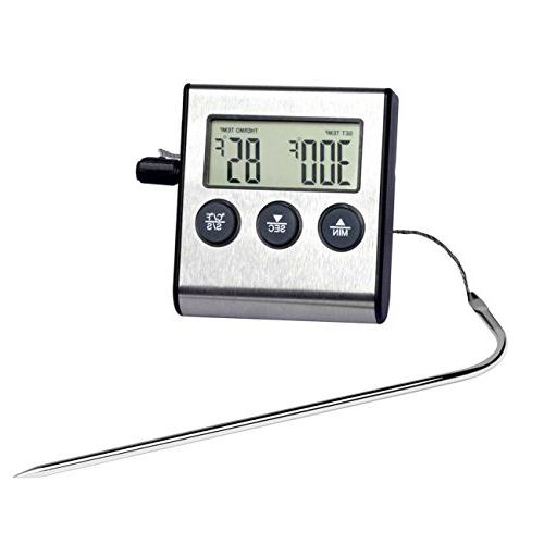 gudoqi oven alarm thermometer timer