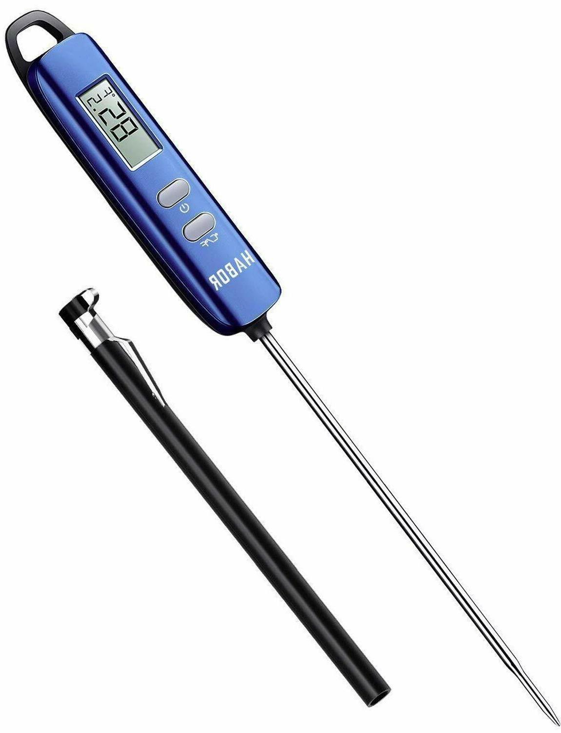 Meat Thermometer, Read Thermometer Candy Blue