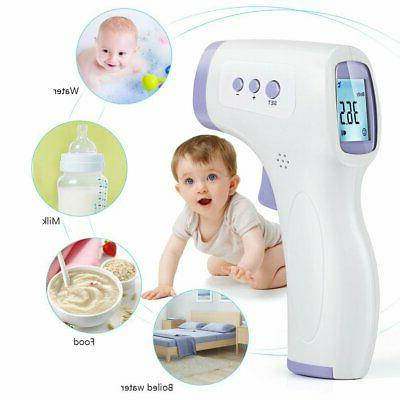 Infrared Forehead Thermometer NON-CONTACT Digital Body Adult