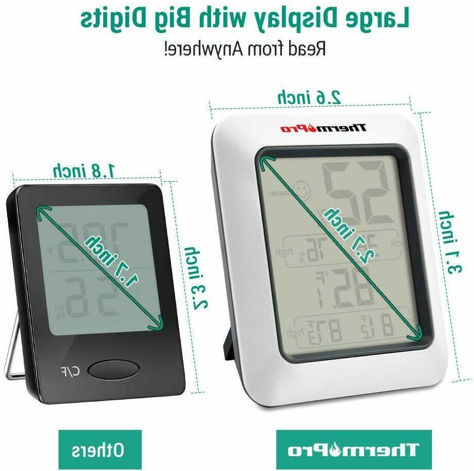 Hygrometers Digital Indoor Room With Monitor,TP50
