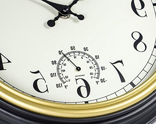 45Min 12-Inch Wall Clock with Silent Non Wall Clock Home with numerals