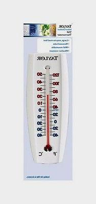 Taylor Indoor Outdoor Wall Thermometer - 6 per case.