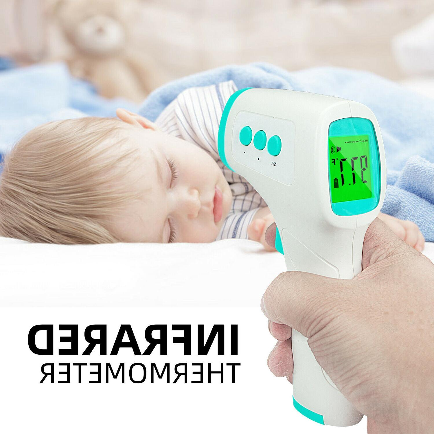 Infrared Thermometer Forehead Non-Contact Touch Digital Baby
