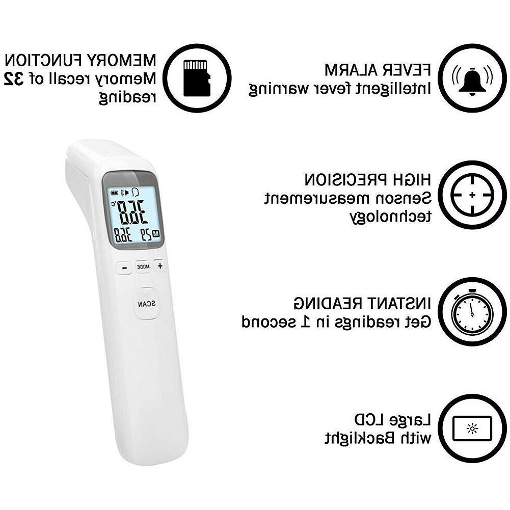 Infrared IR Digital Contact Adult Baby Temperature Body