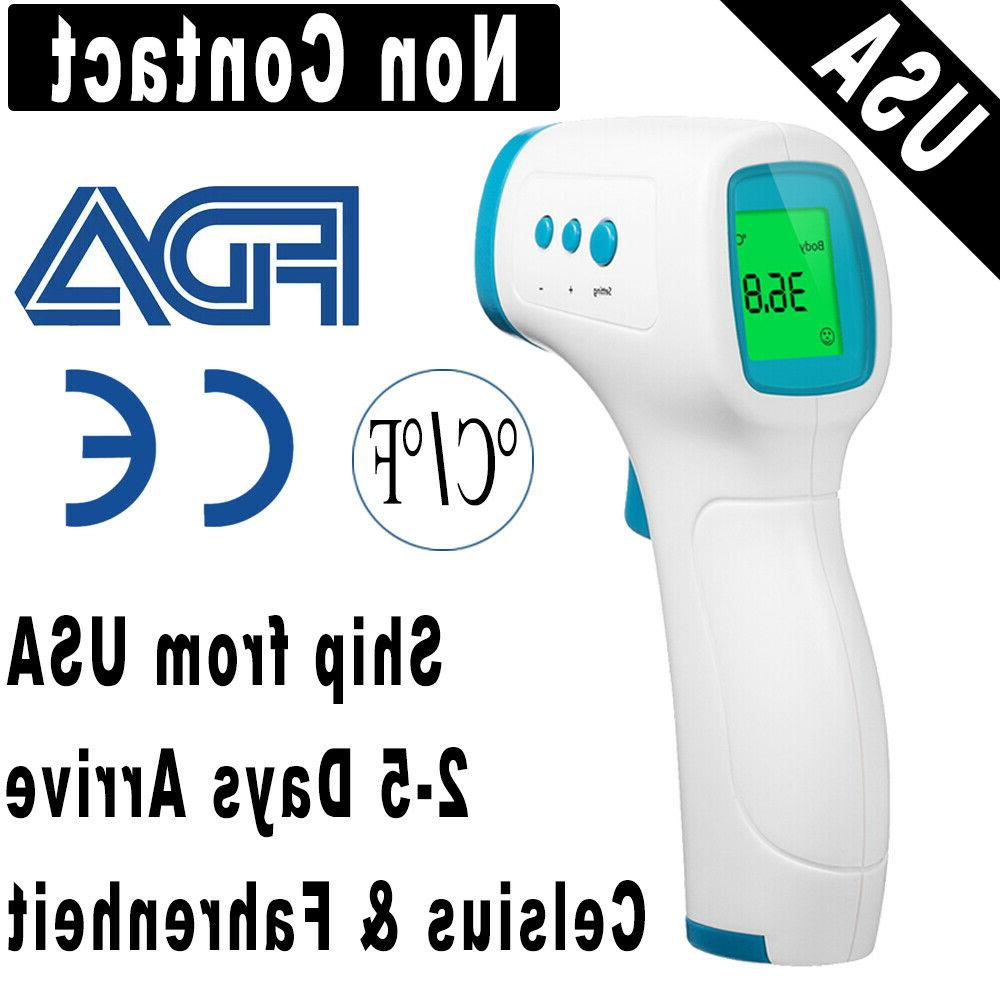 infrared non contact digital forehead body ir