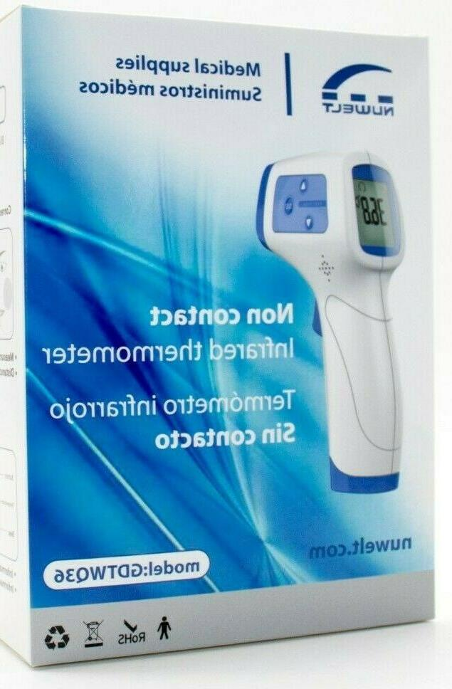 infrared non contact digital forehead thermometer temp
