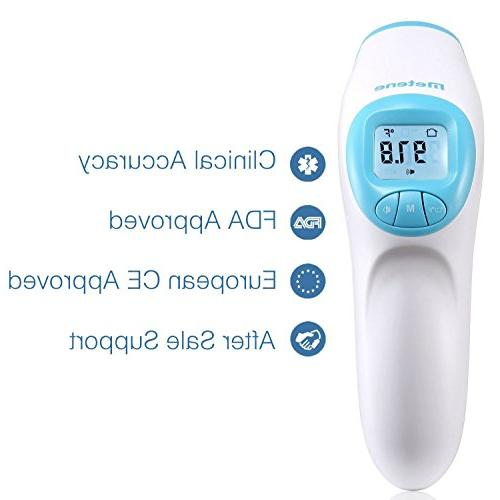 Metene Digital Forehead Thermometer. for Baby, Toddlers and And Object Results