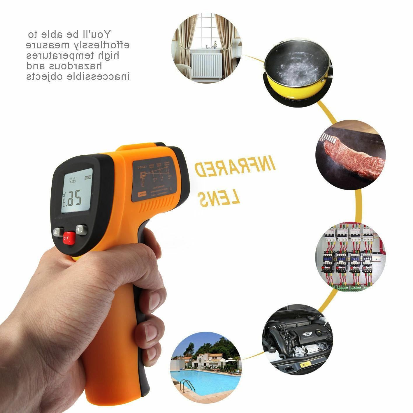 Infrared Digital Non-Contact Surface Measure Temperature USA