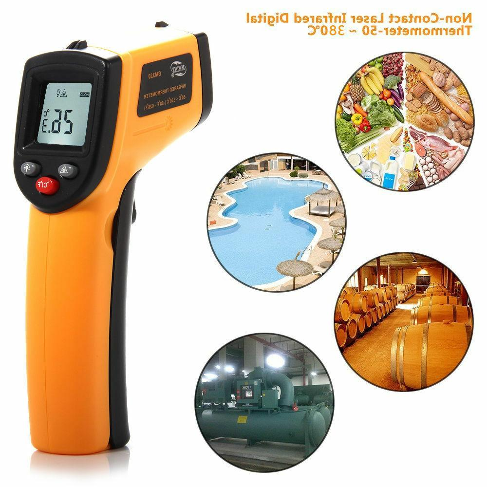 Infrared Non-Contact Measure Temperature Thermometer USA