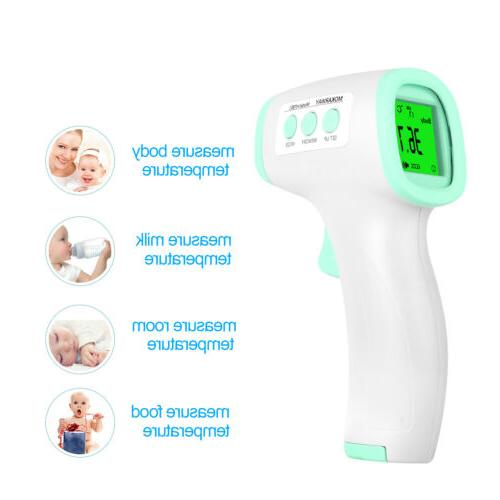 Infrared Contact Thermometer Forehead   FDA CE   Medical
