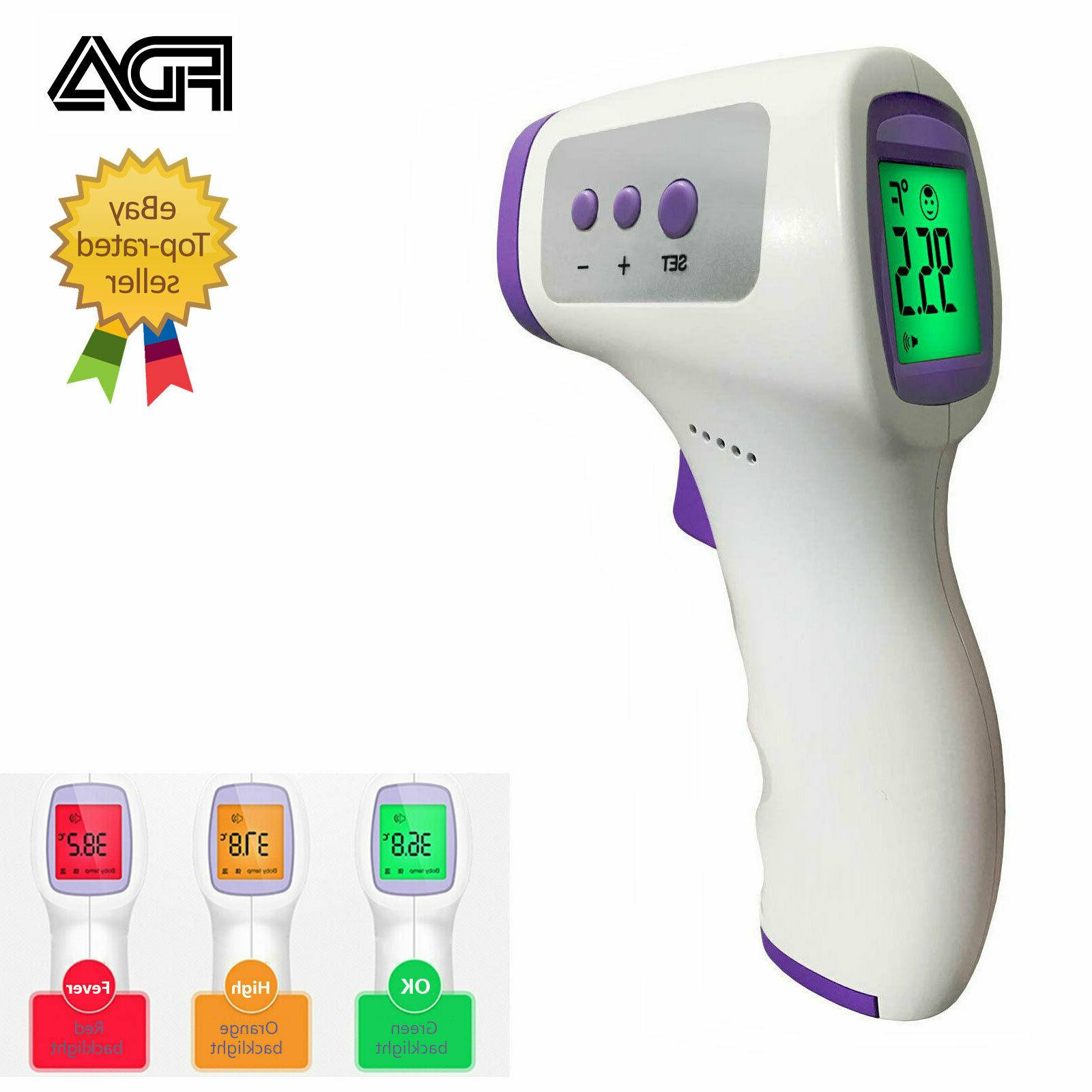 infrared non contact thermometer forehead fda