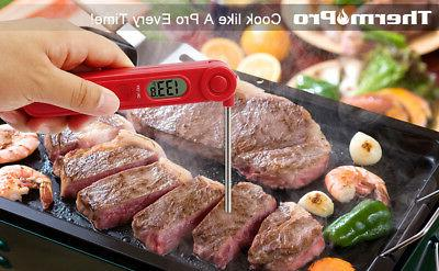 ThermoPro Instant Thermometer LCD BBQ