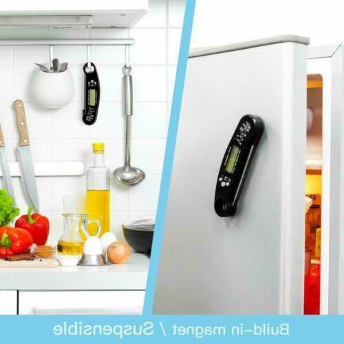 Instant Read Digital Thermometer Waterproof with Bottle