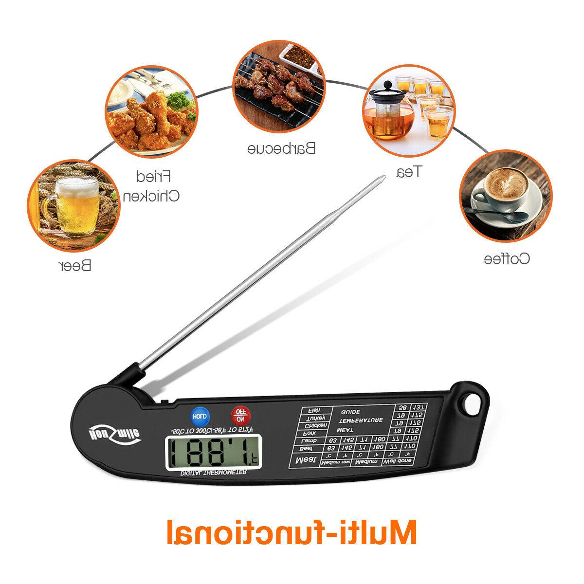 Digital Meat Thermometer Probe Kitchen Food Cooking Grill Measure Tool