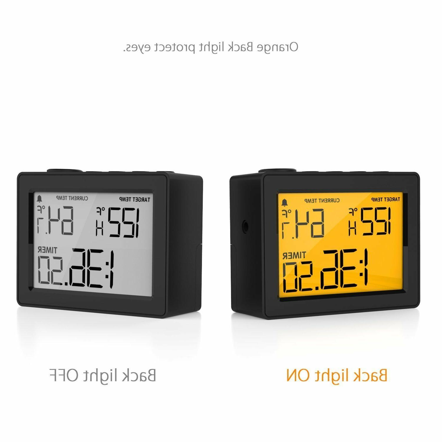 Cappec Thermometer with High/Low Temperature Timer