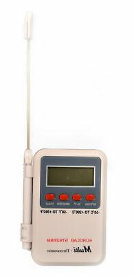 Eisco Labs Digital Thermometer, Wide Range, -50°C to +300°