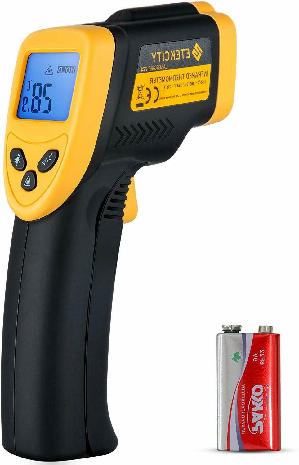 Etekcity DT-8550 Instant-read IR Infrared Thermometer Non-co