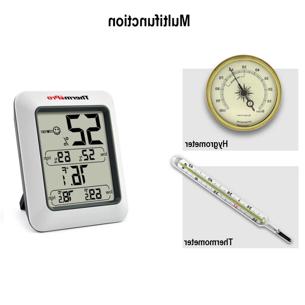 ThermoPro LCD Hygrometer Monitor