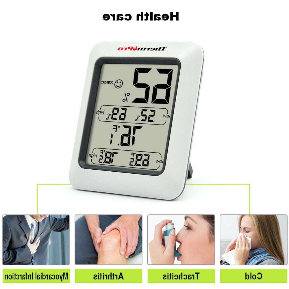 ThermoPro Hygrometer Thermometer Humidity Monitor