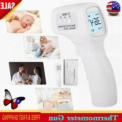 lcd digital medical thermometer gun heating fever