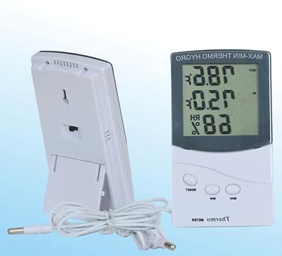 LCD Indoor/Outdoor Thermometer Hygrometer