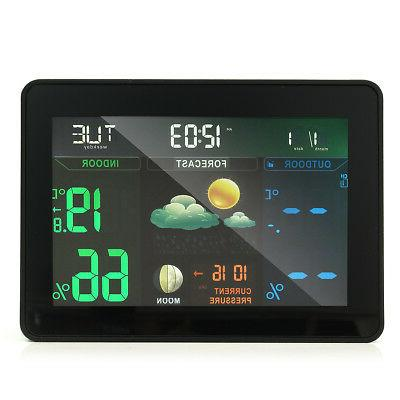 LCD Wireless Digital Thermometer Weather Hygrometer Humidity Meter