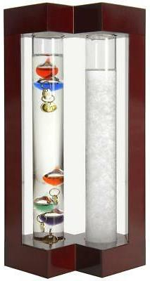 Lily's Home Admiral Fitzroy Storm Glass and Galileo Thermome