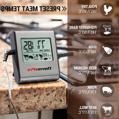 ThermoPro Meat Food Cooking Oven Grill Thermometer