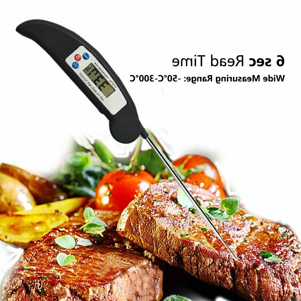 Meat Thermometer Digital Food Grill Liquid BBQ Baking Candy