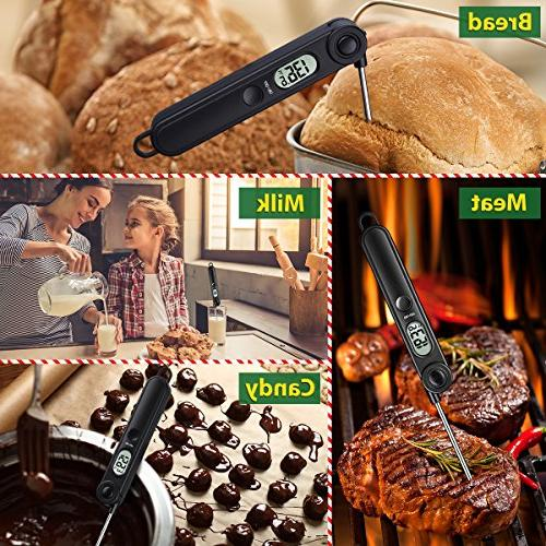 Habor Instant Meat Digital Thermometers with For Kitchen Grill