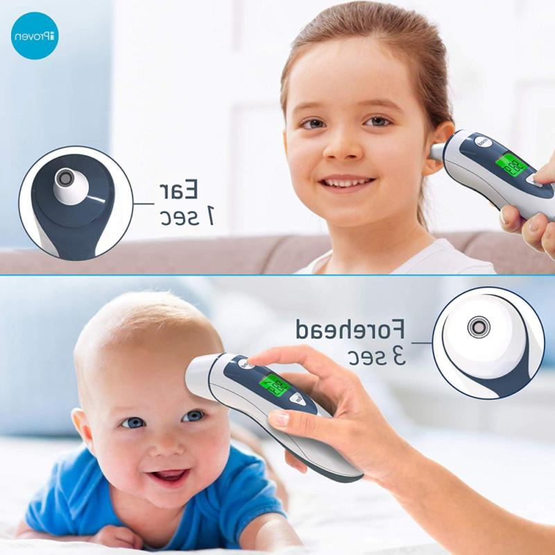iProven Medical Digital Thermometer with Temporal Forehead Function -