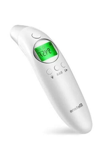 medical forehead and ear thermometer for fever