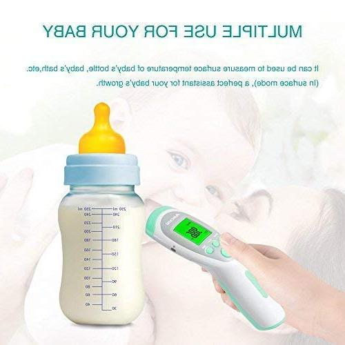 Medical Non-Contact Forehead FeverThermometer for Infants Adults Body/Surface/Room Temperature Approved