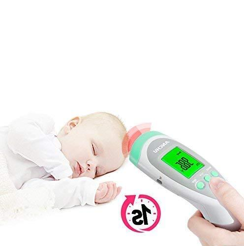 Medical Non-Contact Forehead FeverThermometer Infants Body/Surface/Room Temperature FDA Approved
