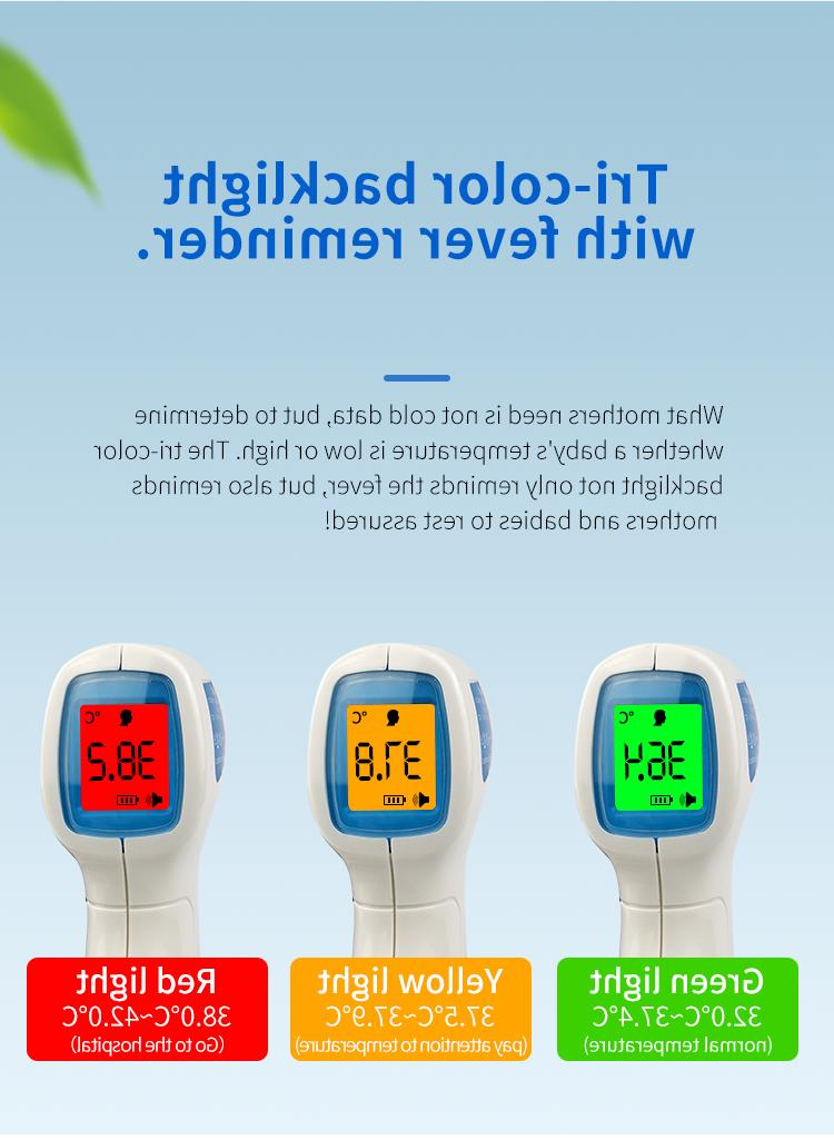 Medical NON-CONTACT IR Digital Thermometer Adult Baby