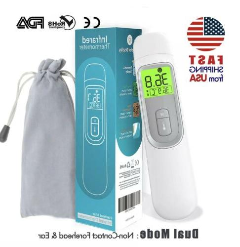 medical non contact infrared forehead thermometer adult