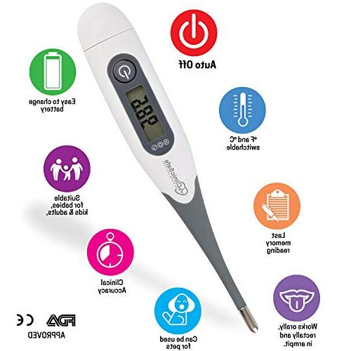 Best Digital for Kids Adults Accurate and Fast Sec Oral and Termometro for Infant Babies