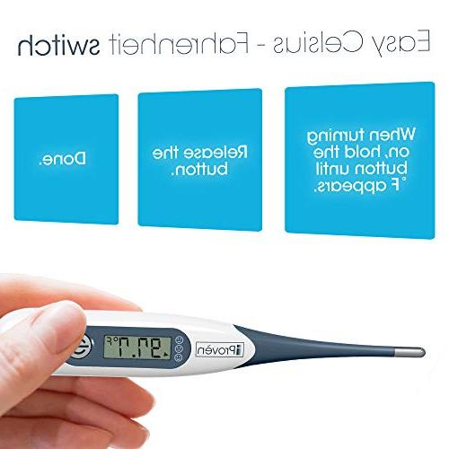 Best Digital Medical , Accurate Readings - Rectal Thermometer Children Babies - DT-R1221AWG Fever Indicator High Quality