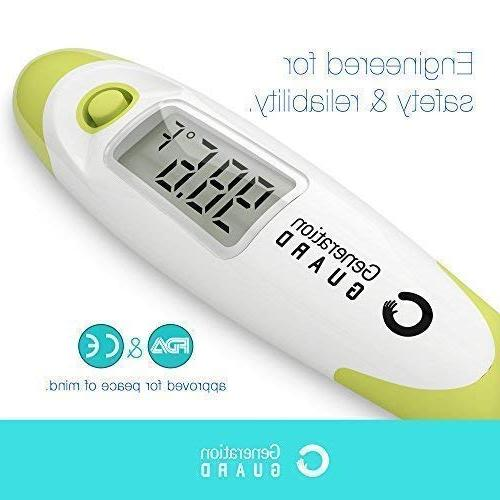 Medical Digital Thermometer for Infant ~ Instant Second Read with Chip Oral Axillary Rectal