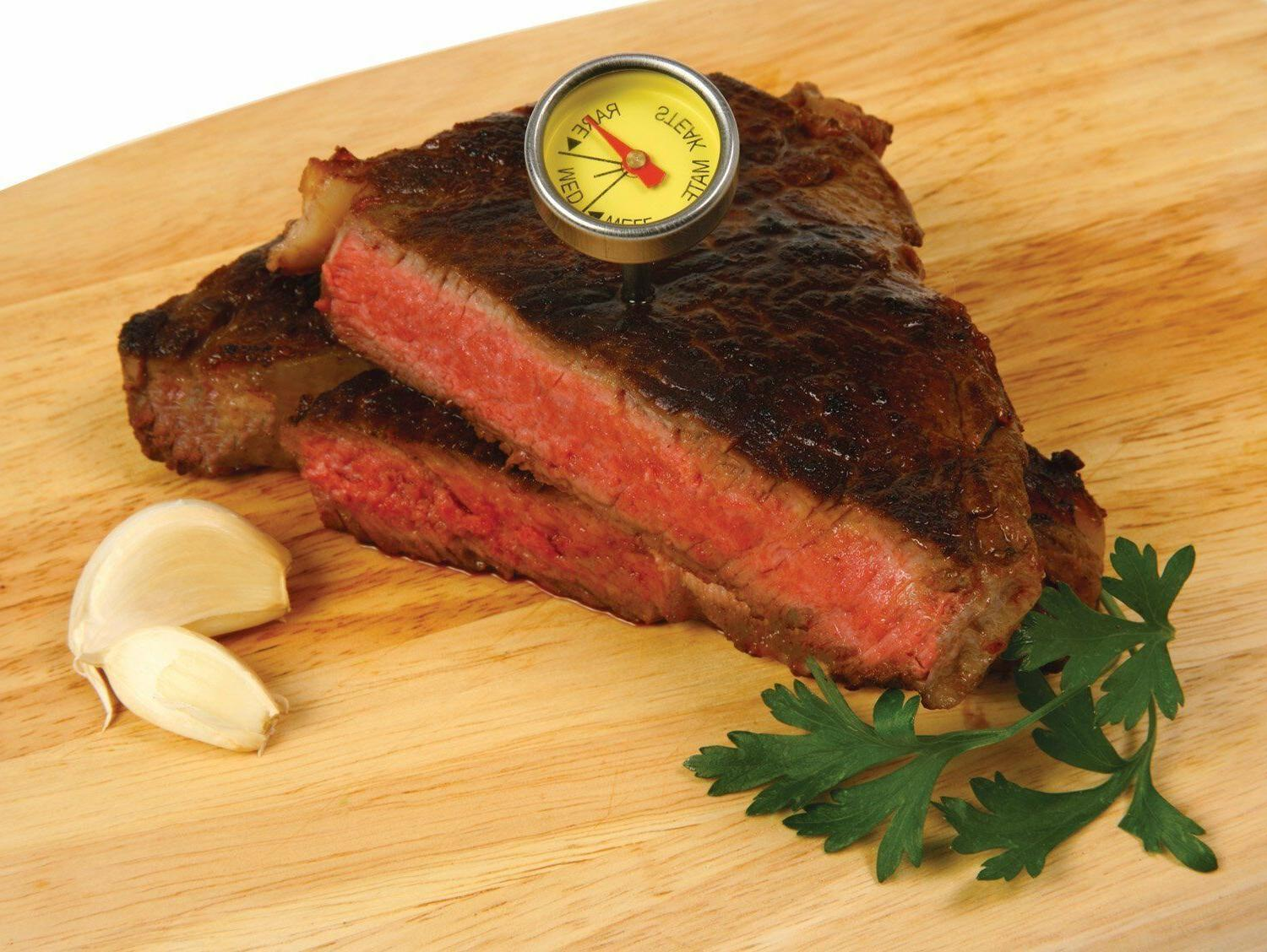 New of Steak Mate Thermometers Stainless Steel Oven Safe