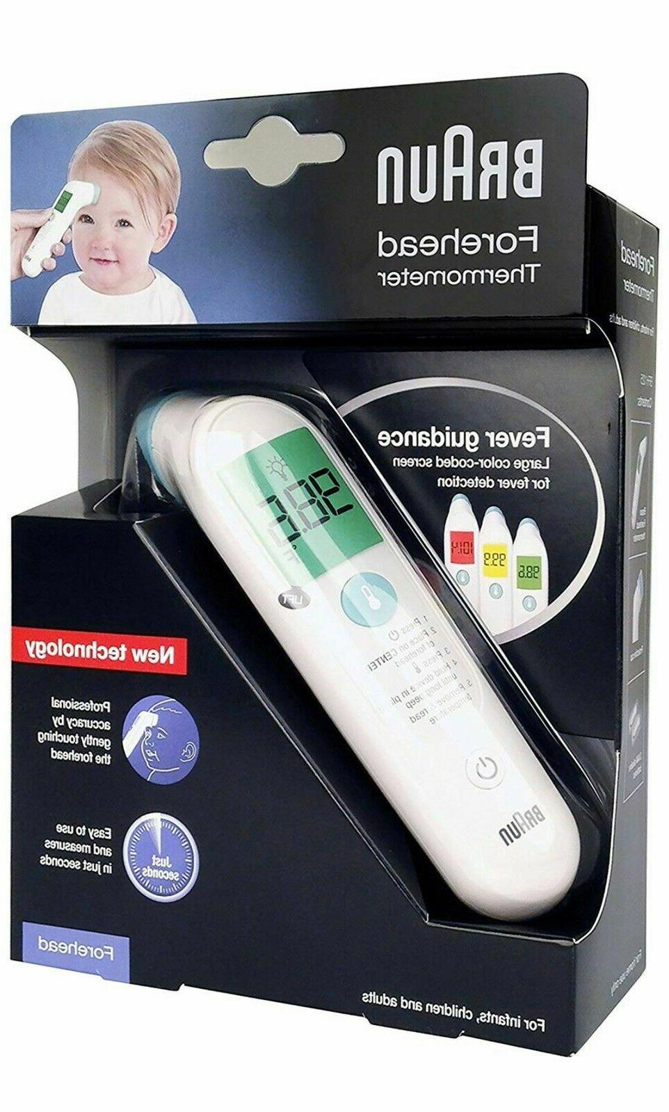 new bfh 125 forehead thermometer white brand