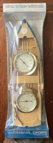 New Springfield Precision Instruments Row Boat Weather Therm