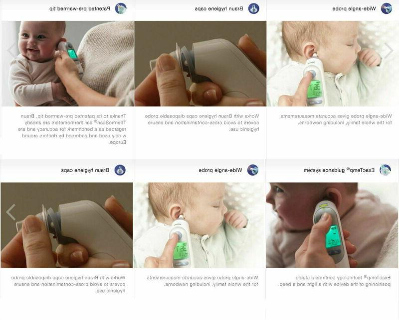 IRT6520 Baby Adult Ear Thermometer